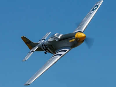 Dynam P-51D Mustang V2 1200mm (47 inch) Wingspan PNP RC airplane