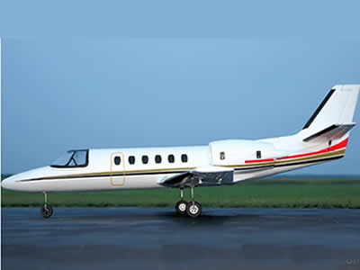 Dynam 550 Turbo Jet White Twin 64mm EDF Jet 1180mm (46 inch